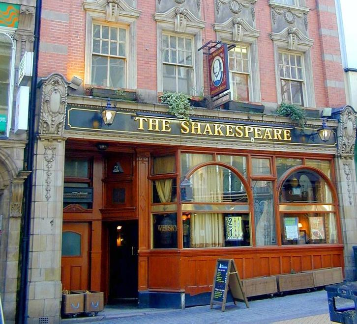 The Shakespeare,Lower Temple Street, Birmingham