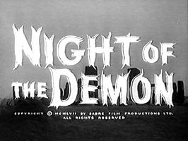 NIGHT OF THE DEMON. 1957