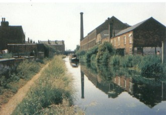 Erewash Canal, Nottinghamshire, UK